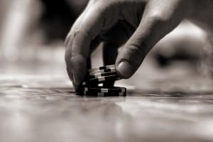 Parier vos jetons de poker